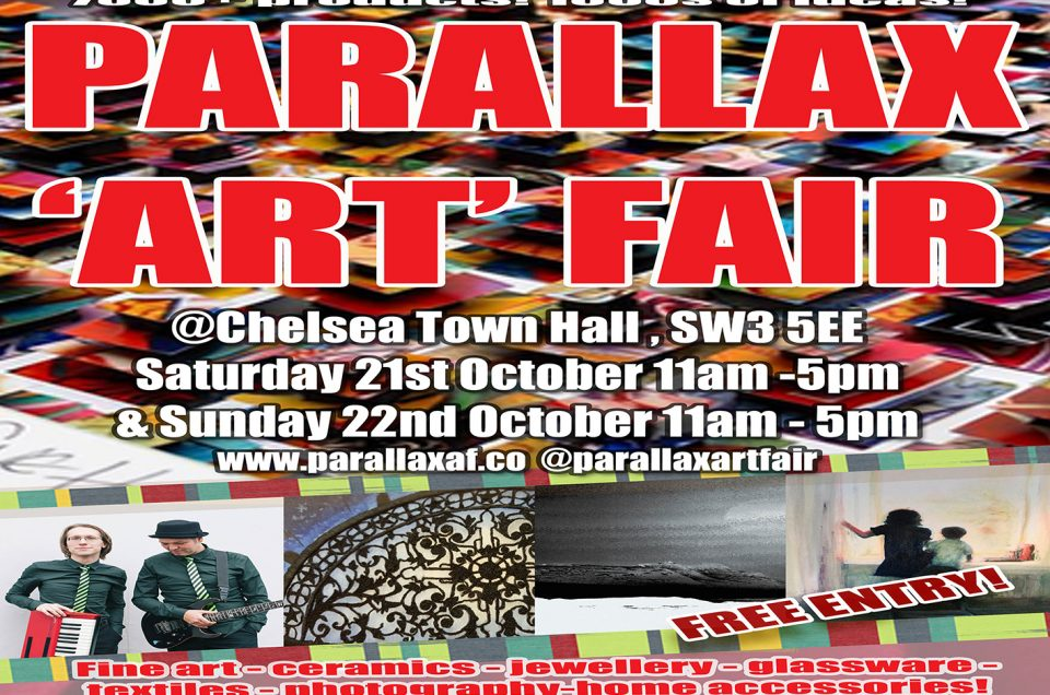 Parallax Art Fair London 21 and 22 October 2017
