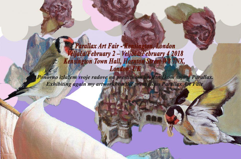 Parallax umjetnički sajam u Londonu 22. - 24. veljače 2018.